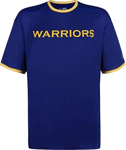 A NEW ERA Era NBA Tipping Wordmark Golden State Warriors Camiseta Majestic Blue