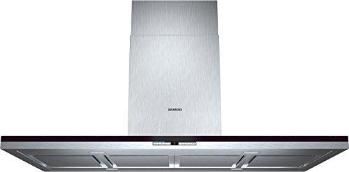 Siemens LF21BA552 iQ700 Wandhaube / 120,0 cm / Die Lüfterleistung von 720 m3/h sorgt für frische Luft beim Kochen / Edelstahl