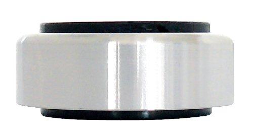 Dynavox 206381 Aluminium-Füsse für HiFi-Geräte (4er Set) silber