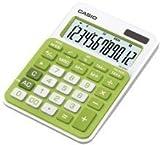 Casio© Tischrechner MS-20NC-GN, Solar-/Batteriebetrieb, 12stellig, grn