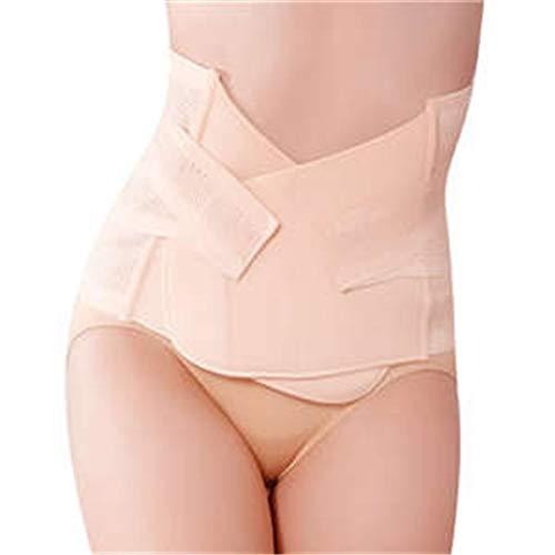 Körper Erholung (Schnelltrocknende Sportbekleidung Elastische, atmungsaktive Belüftung postpartale postnatale Schwangerschaft Erholung Gürtel für die Hüfte Taille Abnehmen Shaper Wrapper Unterleib Unterstützung Gürtel)