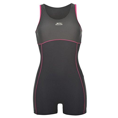 slazenger-womens-boyleg-legsuit-ladies-swimming-costume-swimsuit-beachwear-navy-charcoal-14-l