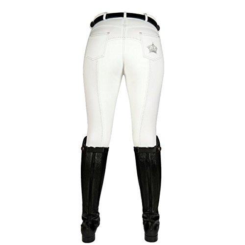 HKM–Zurigo New Pantaloni da equitazione, Donna, Reithose Zürich New, bianco, 176