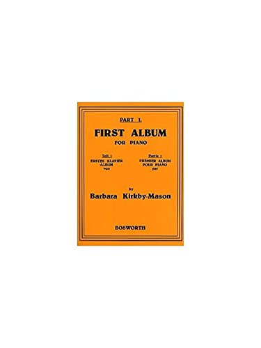 Barbara Kirkby-Mason: Part 1: First Album for Piano