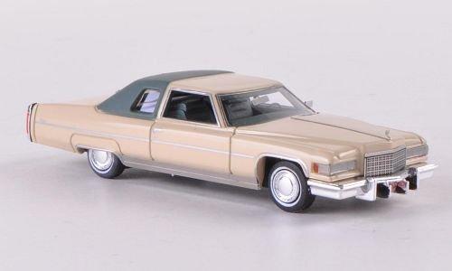 cadillac-coupe-de-villa-beige-grigio-scuro-opaco-1976-modello-di-automobile-modello-prefabbricato-ne