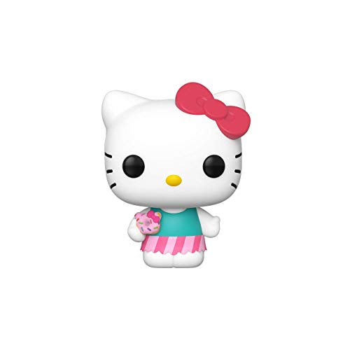 Funko 43473 POP Vinyl Sanrio: Hello Kitty-HK (Sweet Treat) (SWT Trt) Sammelbares Spielzeug, Mehrfarben