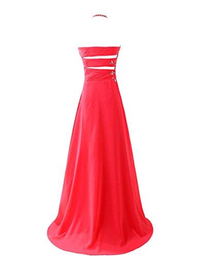 Dresstells, Robe de soirée Robe de cérémonie Robe de bal emperlée col en cœur bretelles spaghetti Lavande