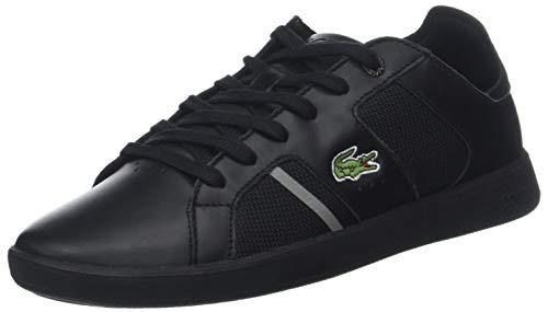 Lacoste Sport Herren Novas 318 2 SPM Sneaker, Schwarz (Blk/Gry 231), 44.5 EU