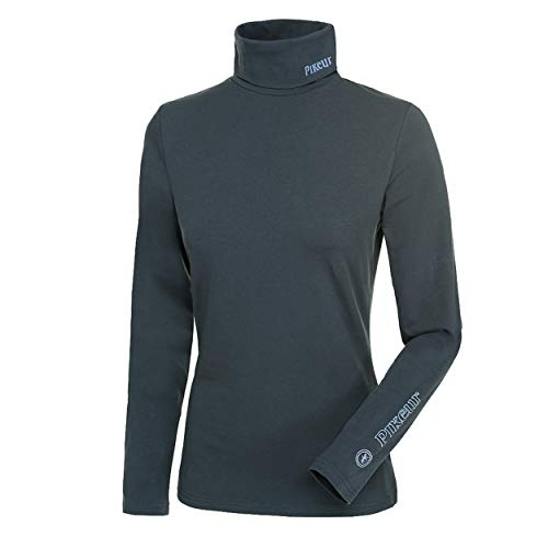 Pikeur Womens Sina Polo Neck Base Layer Anthracite Womens Size - M