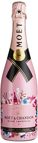 Moët & Chandon Champagne ROSÉ IMPÉRIAL Brut Emoji Edition Roséchampagner (1 x 0.75 l)