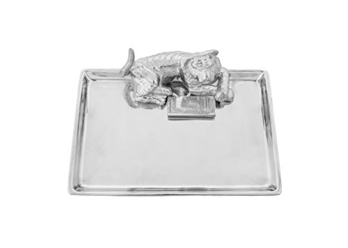 Arthur Court LSU Tiger 15,2x 22,9cm Aluminium Serviertablett Designs (Arthur Feier)