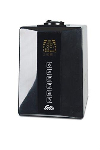 Solis Luftbefeuchter mit Aromafunktion, Ultraschall-Vernebelung und hygienischer Verdampfung, 6 l, Ultrasonic Hybrid (Typ 7214)