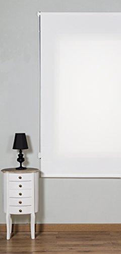 Maison Decor Dynamic Screen Estor Enrollable, Tela, Blanco, 75 x 250