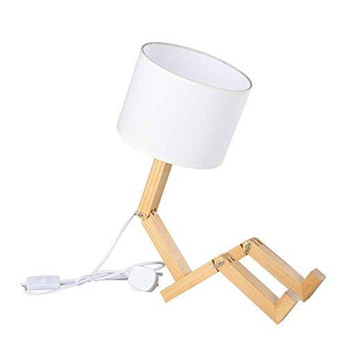 Kreative Kleine Roboter Lampe Lampe Exquisite Mode Hause Schlafzimmer Nachttischlampe