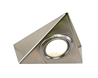 Tri Cabinet Triangle Under Cabinet Light in Satin nickel (B003XR5FW0) | Amazon price tracker / tracking, Amazon price history charts, Amazon price watches, Amazon price drop alerts