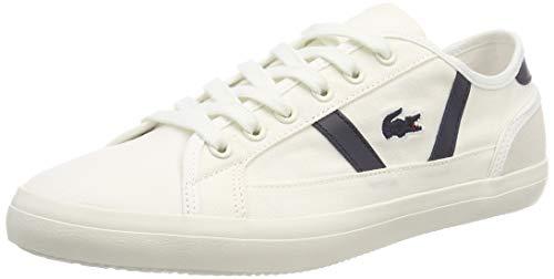 Lacoste Damen Sideline 119 1 Cfa Sneaker, Elfenbein (Off Wht/NVY Wn1), 39 EU
