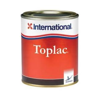 International Toplac High Gloss Yacht Enamel Paint - Mediterranean White 750ml