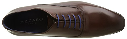 Azzaro Nobodar, Chaussures Lacées Homme Marron (Marron)