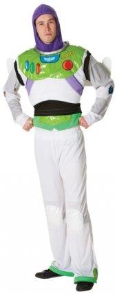 TOY STORY - DISNEY PIXAR ~ Buzz Lightyear - Adult Costume Men: - Buzz Lightyear Standard Kostüm
