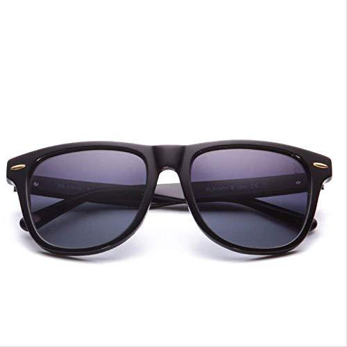 LKVNHP Acetat Sonnenbrillen Unisex Retro Spiegel Sonnenbrille Hand Machen Polarisierte Sonnenbrillen Brille Prescription Sunglass