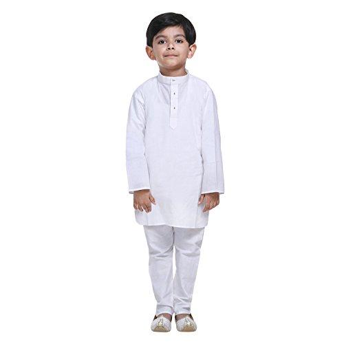 Littly Ethnic Wear Kids Pure Cotton Kurta Pyjama Set For Baby Boys...