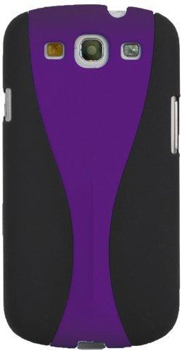 Soft Case für Samsung Galaxy S III schwarz/lila ()
