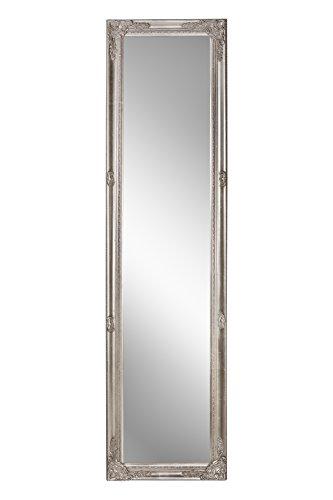 Spiegel Wandspiegel antik silber Barock DEVA 160 x 40 cm