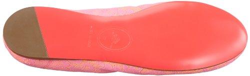 Fornarina LYZA PEFYZ8332WXA6500, Ballerine donna Rosa (Pink (fluo pink 6500))