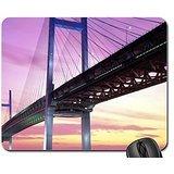 Yokohama Bay bridge-japan Mauspad, Mousepad (Brücken Maus Pad)