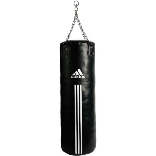 adidas Boxsack Punching Bag Canvas Type, black, 120 x 30 cm, ADIBAC12-120