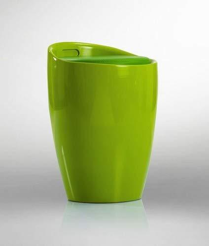 Badhocker Sitzhocker Hocker Stuhl mit Stauraum Grün DH0607 - Duhome - mit Stauraum abnehmbare Sitzkissen Wäschehocker