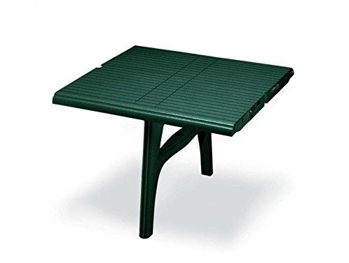 Ideapiu Rallonge pour Table en Plastique Blanc, rallonge pour Table President 3000 Extensible. Rallonge 100 x 95