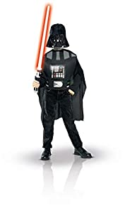 Rubies Deutschland 3 5207 - Disfraz de Darth Vader para niño (7 años) (talla única)