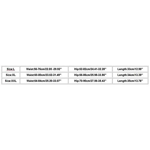 NEEDRA Neue Frauen-Reizvolle WäSche Normallackspitze SchriftsäTze Damen Sexy Unterwäsche Dessous String mit offenem Schritt Thongs Höschen Tanga Bikinislips mit Spitze - 4