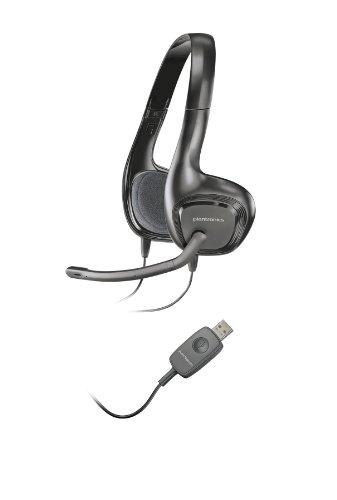 Plantronics 87329-05 - Auriculares de diadema cerrados (con micrófono