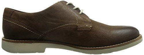 Clarks - Plan Raspin, Chaussures Homme Marron (noyer Noyer)