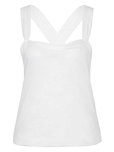 PRADA Femmes Top 100 % coton Blanc