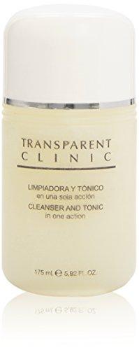 Transparent Clinic - Soin Démaquillant et Tonifiant, 175 ml