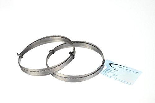 Preisvergleich Produktbild 2er SET Metallsägeband Bi-Metall M 42 Abmessung 1335x13x0,65 mm 8/12 ZpZ z.B. für FEMI 780 XL , 783 XL , 782 XL, Berg & Schmid MBS 85, Flex SBG 4908 u. 4910 , Alfra , Flott , Metallkraft