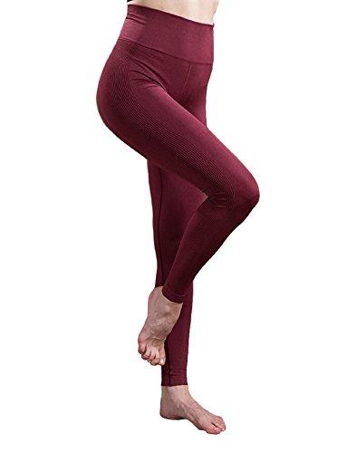 Women's High Waist Super Stretch Seamless Sports Leggings - by NIXX Fitness