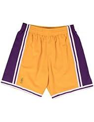 Mitchell & Ness Los Angeles Lakers NBA Short 1996–1997swingman Jaune