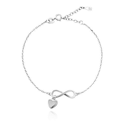 SOFIA MILANI Damen-Armband Unendlichkeit 925 Silber - Freundschaft Armband Infinity