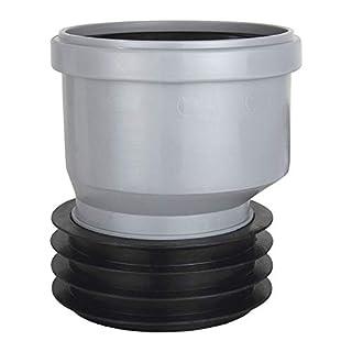 AIRFIT Steck-Muffe -PlusrStück Exentrisch aus PP für Rohre ab 100mm Innen-Durchm.- Größe DN 110x110