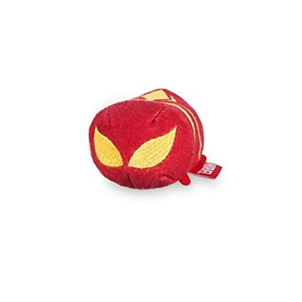 Image of Disney Tsum Tsum Mini Marvel Spider-man - Iron Spider 3 1/2''