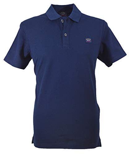 bdcd42b52b Paul & Shark Polo Uomo C0P1000 013 Colore blu Navy ss19 L