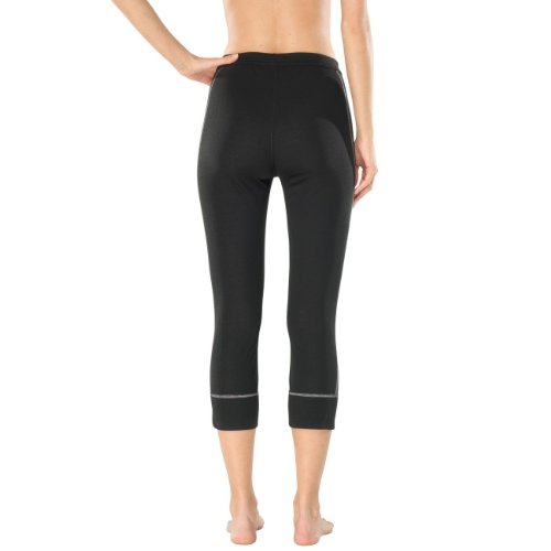 SCHIESSER Damen Funktions 3/4 Pant Thermo Plus 135309 schwarz (000)