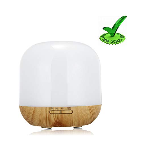 YWUAEN Máquina De Aromaterapia Humidificador 300ML para Aromaterapia, con Función Automática De Cierre...