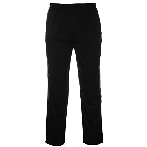 Slazenger -  Pantaloni sportivi  - Uomo Black