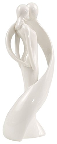 Mopec Figure of Porcelain Fiance melting, Pack of 1 Unit, White, 0.02x6.00x18.00 cm