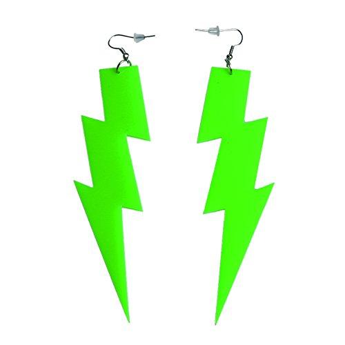 iLoveCos 80er Neon Party Kleid Zubehör Neon Ohrringe Party Kostüm 1980er Jahre Accessoires(se4) (Die 1980er Jahre Kostüme)